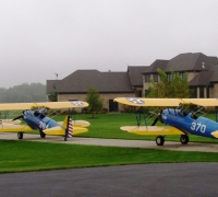 Stearmans ready to fly T'birds