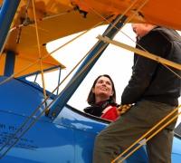 T'bird Nicky first female pilot